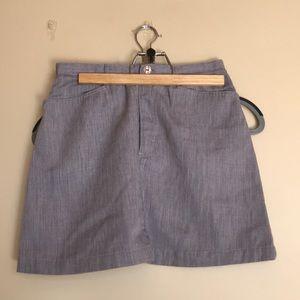 Vintage ESPRIT mini skirt in gray